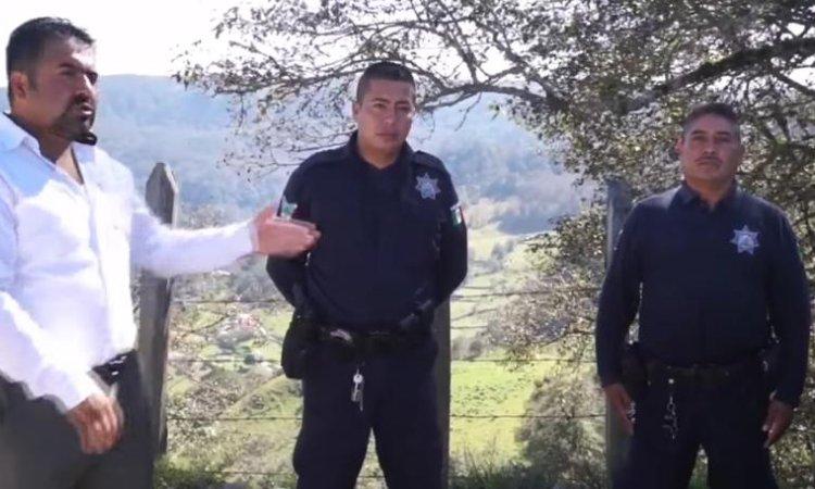 POLICIA DEVUELVE DINERO