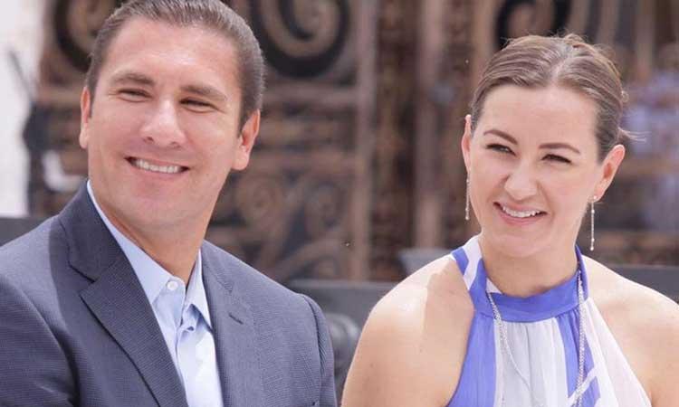 PAN rinde homenaje a Martha Erika Alonso y Rafael Moreno Valle