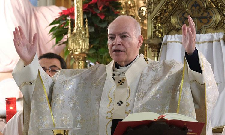 Aguiar Retes llama a fieles a celebrar a la Virgen de Guadalupe desde casa