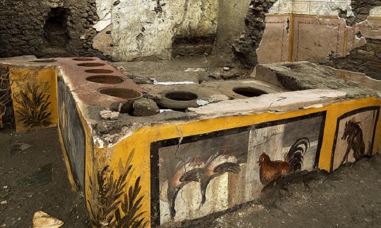 """Roma: descubren en la antigua ciudad un lugar de """"fast-food"""""""