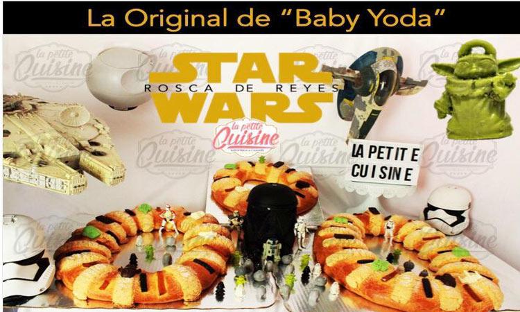 Baby Yoda: crean rosca de reyes sobre Mandarlorian en Puebla