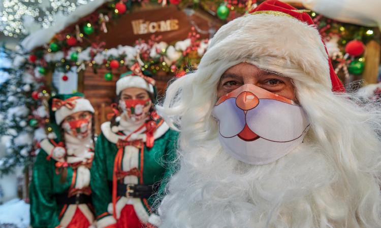 Santa y elfo detienen a ladrones en EU; ve video