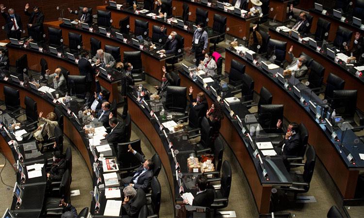 Senado clausura trabajos legislativos en sesión virtual