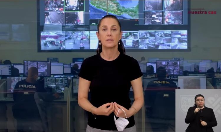 Sheinbaum pide con este mensaje quedarse en casa - Uno TV