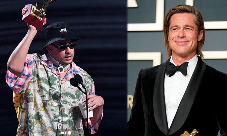 Bad Bunny y Brad Pitt juntos en película