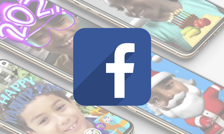 Facebook sticker navidad
