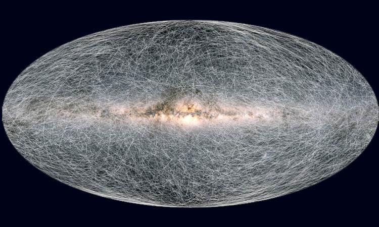 Revelan tercer mapa en 3D de la Vía Láctea, el más detallado hasta ahora