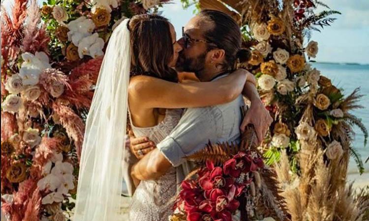 Diego Torres se casó en secreto con Débora Bello, esta es su historia de amor