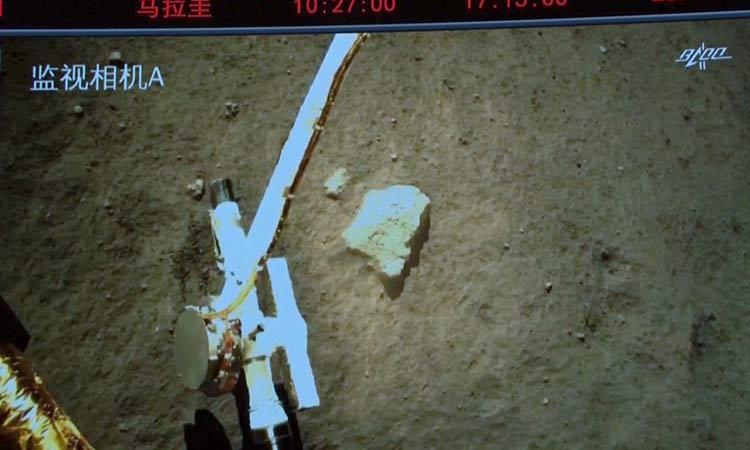 Sonda espacial china recoge con éxito muestras lunares