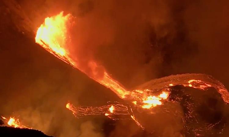 Erupción del volcán Kilauea