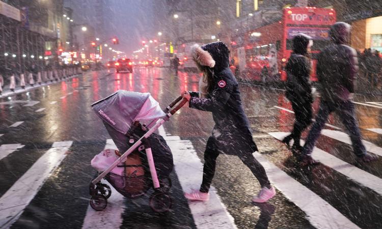 Tormenta invernal golpearía costa este de Estados Unidos esta semana