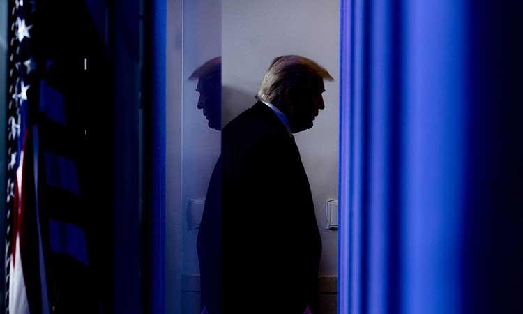 Donald Trump, presidente de EU. Foto: AFP