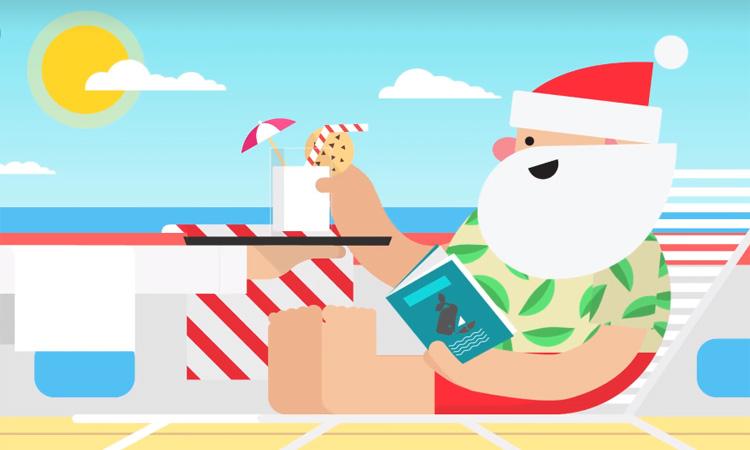 Vacaciones Santa Google
