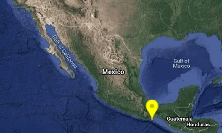 Sismo en Oaxaca de 5.5 con epicentro al suroeste de Salina Cruz