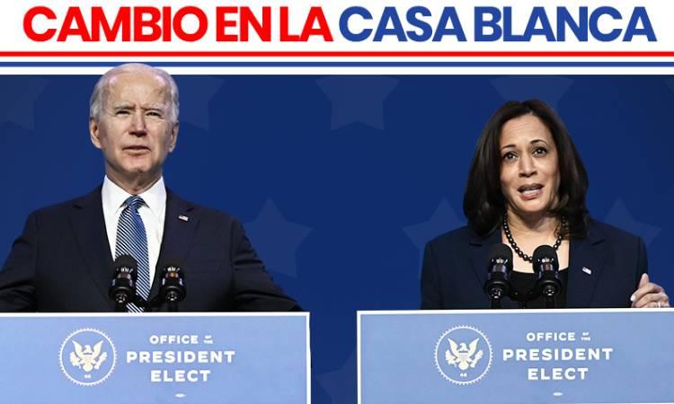 Toma de posesión de Biden como presidente de EU, en vivo y en directo