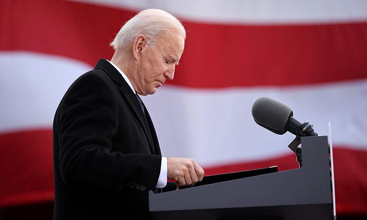 Jornada de Joe Biden antes y después de rendir protesta