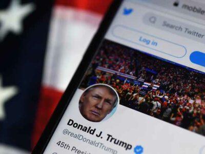 cerrar cuentas de Trump