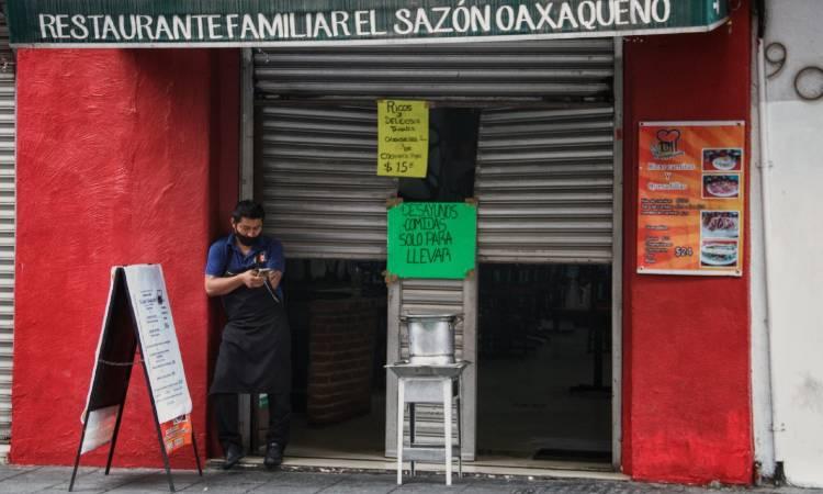 Negocios en Oaxaca realizarán cierre escalonado