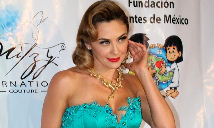 """Aracely Arámbula, la """"Chule"""", ex de Luis Miguel, posó desnuda en redes"""