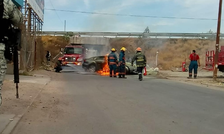 Guanajuato: reportan enfrentamientos e incendios durante fin de semana