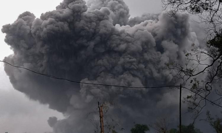 Volcán Semeru entra en erupción; genera nube de más de 5 kilómetros en Indonesia