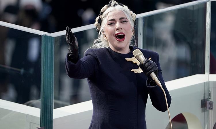 Lady Gaga Canta Himno