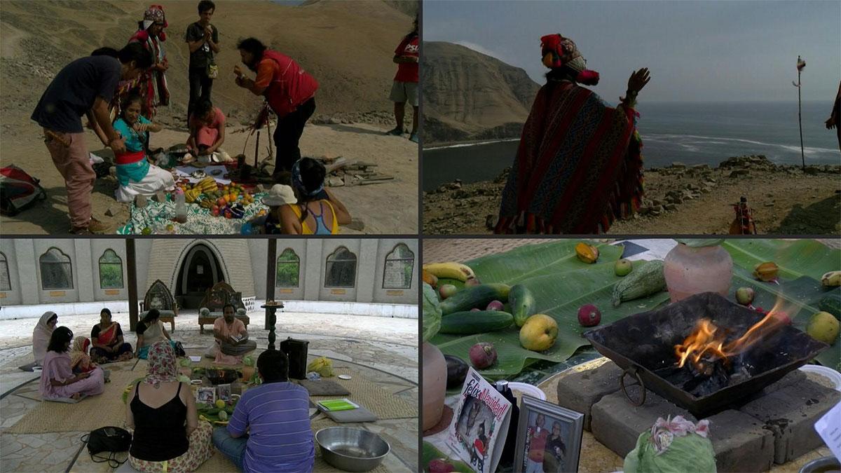 El ritual con el que despiden en Perú a muertos COVID-19