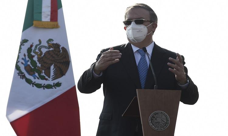Marcelo Ebrard agradece a China apoyo brindado a México contra COVID
