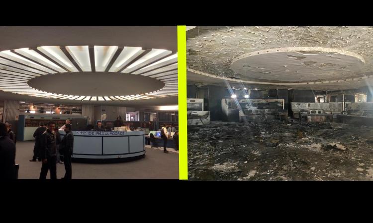Metro CDMX: antes y después del incendio en el Centro de Control