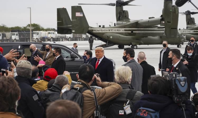 Donald Trump violencia
