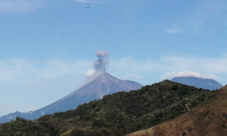 Volcán Fuego Guatemala