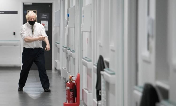 Boris Johnson confinamiento Reino Unido