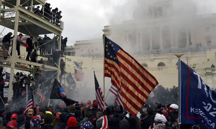 manifestaciones en Capitolio