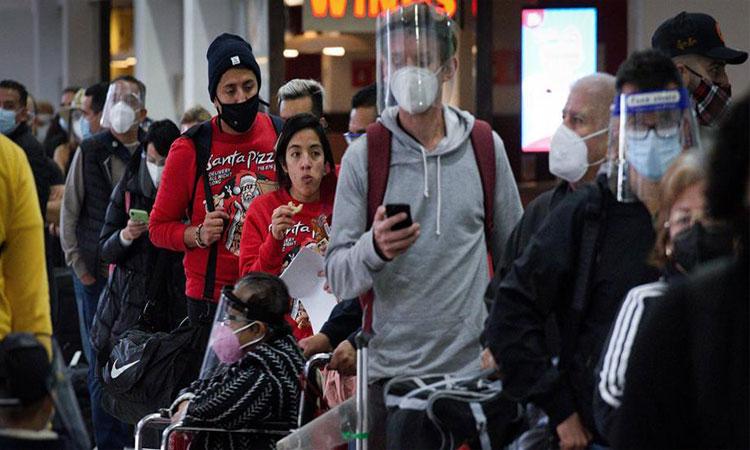 Semáforo epidemiológico: 5 estados en rojo por COVID-19