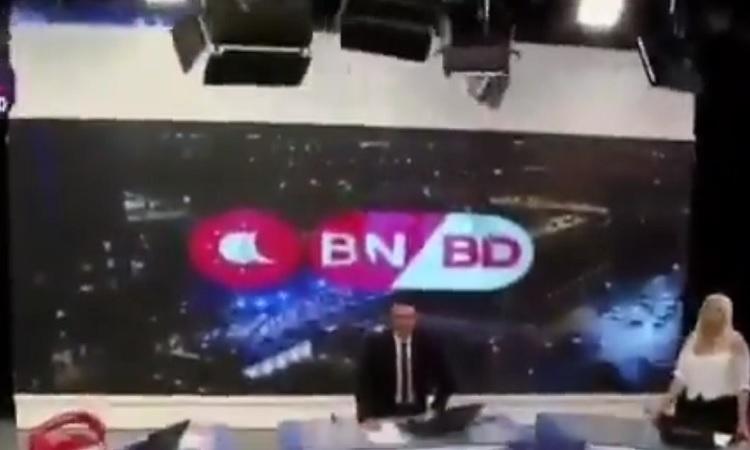 Argentina: sismo interrumpe transmisión de TV en vivo