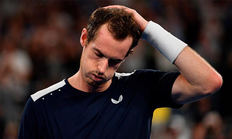 Murray da positivo por COVID-19, en duda su llegada al Abierto de Australia