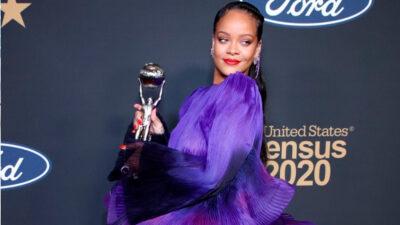 Baile sensual de Rihanna