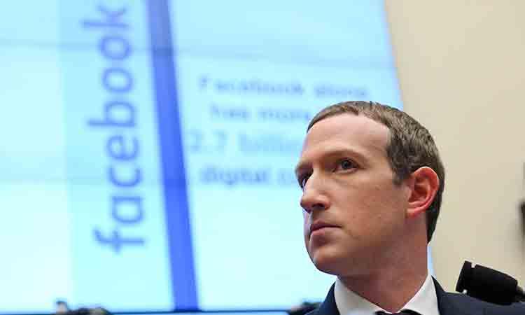 Facebook bloquea cuenta de Trump por tiempo indefinido, dice Zuckerberg