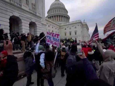 disturbios en Washington