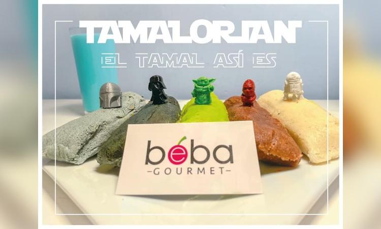 Tamalorian: tamales inspirados en The Mandalorian