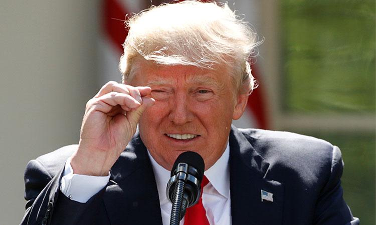 Polémicas de Donald Trump en sus cuatro años al frente de EU
