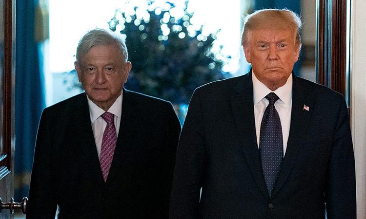 Donald Trump AMLO
