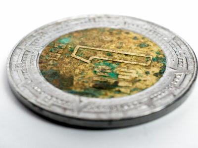 Moneda de un peso se vende hasta en 10 mil en internet