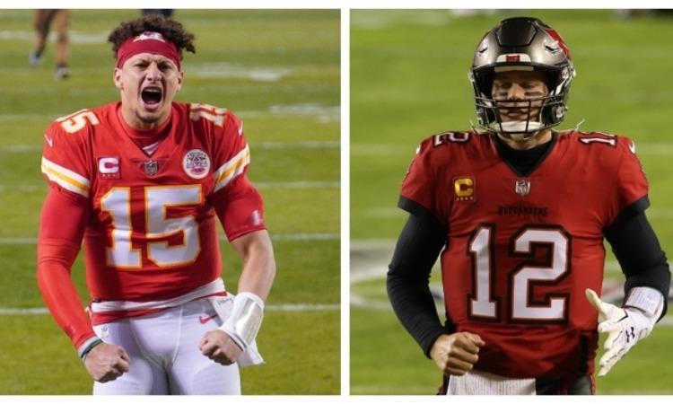 Mahomes buscará el bicampeonato en la NFL ante Tom Brady.