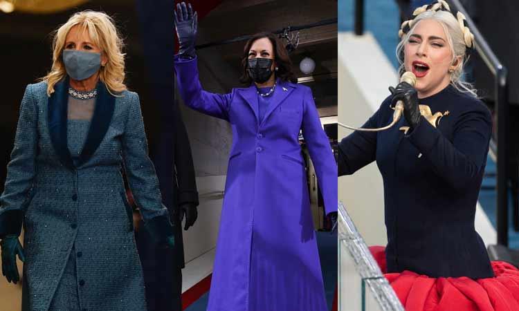 vestidos investidura de Biden