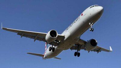 American Airlines le confirmó a Fox News que el OVNI fue visto en vuelo 2292. Foto: AFP
