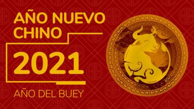 Año Nuevo Chino 2021 buey