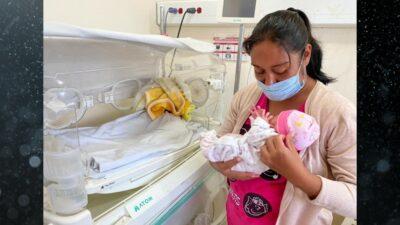 En Colima, bebé y madre se curan de COVID tras 24 días de lucha