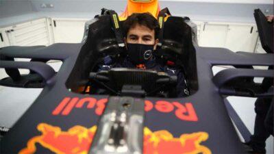 Checo Pérez conoció las instalaciones de Red Bull