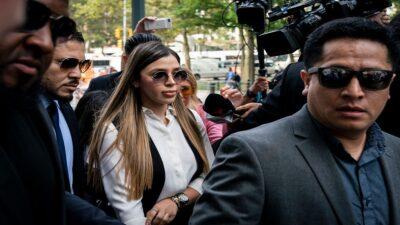 """Emma Coronel, esposa del """"Chapo"""", es detenida en EU"""